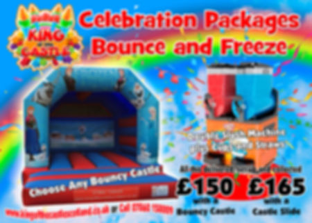 Bouncy Castle & Slush Machne Package