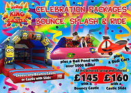 Bouncy Castle, Ball Pond & 4 x Didi Cars