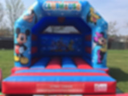 Mickey & Minnie Mouse Bouncy Castle