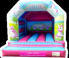 Unicorn Bouncy Castle Hire Falkirk