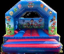 Paw Patrol Bouncy Castle Hire Fife