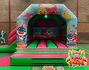 Baby Shark Disco Bouncy Castle Hire