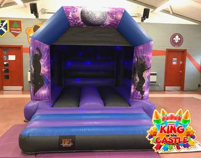 Kids Disco Bouncy Castle