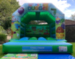 Hey Duggee Bouncy Castle