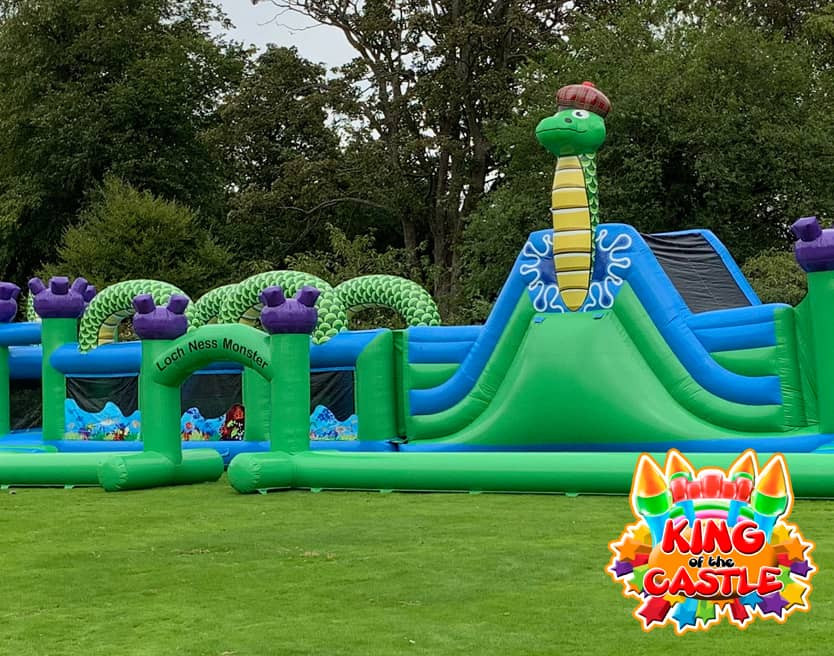 Loch Ness Monster Obstacle Course