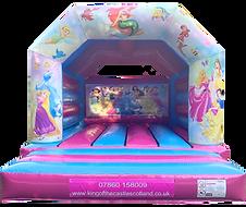 Princess Bouncy Castle Hire Fife