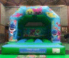 baby shark bouncy castle - greenblue_edi