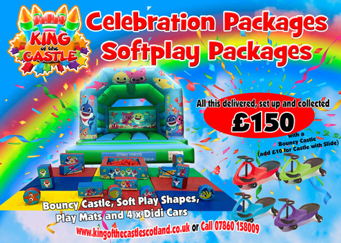Baby Shark Soft Play Package