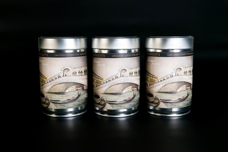 3 Pack!  Ground (Medium-Fine), 250g Tin