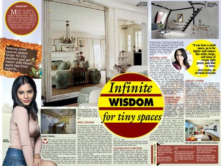 Infinite Wisdom for tiny spaces