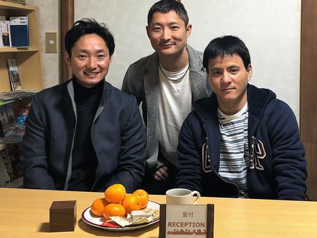 二人組×二組とおひとり様が来られました!Different groups of people came to Guest House Ioly Osaka!