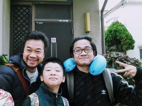 ベトナムの方と日本の方が宿泊されました!A Vietnamese Japanese family came to stay!