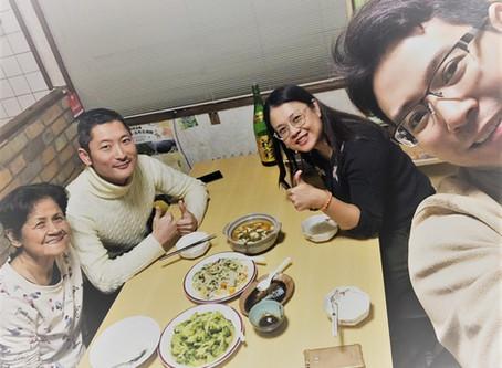 タイから三人組が来られました! A Thai family came to stay!