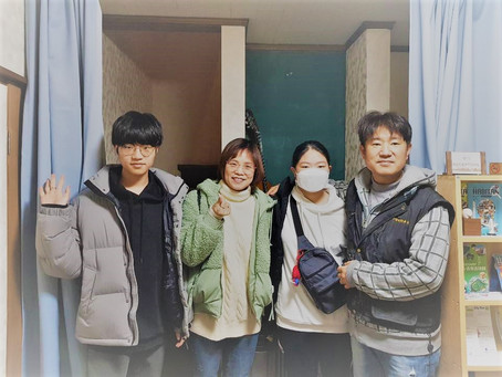 韓国から家族連れが来られました!A Korean family came to stay!