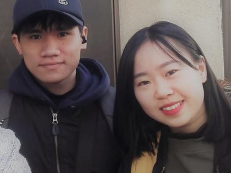 ベトナム人カップル The Vietnamese pair