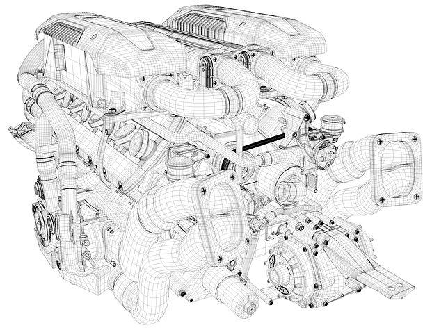 Golden Supra Engine