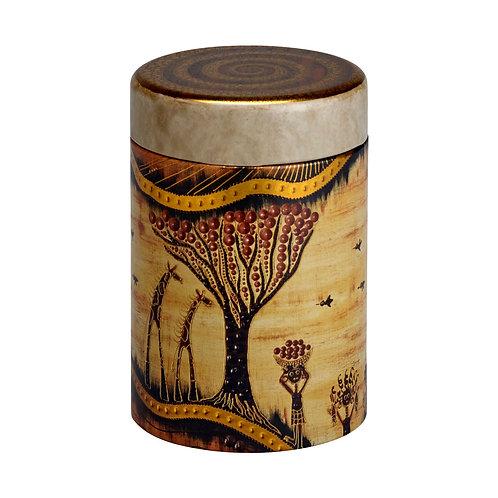 Boîte à thé savane
