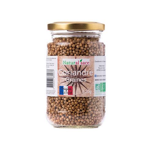 Coriandre graines bio origine France