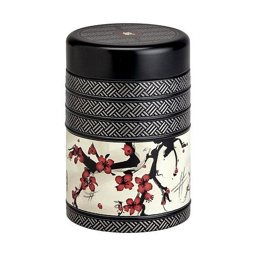Boîte à thé Japon sakura
