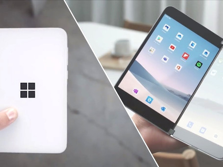 Microsoft Surface Duo-Android with Microsoft, finally a productive device in folding concept 2020.