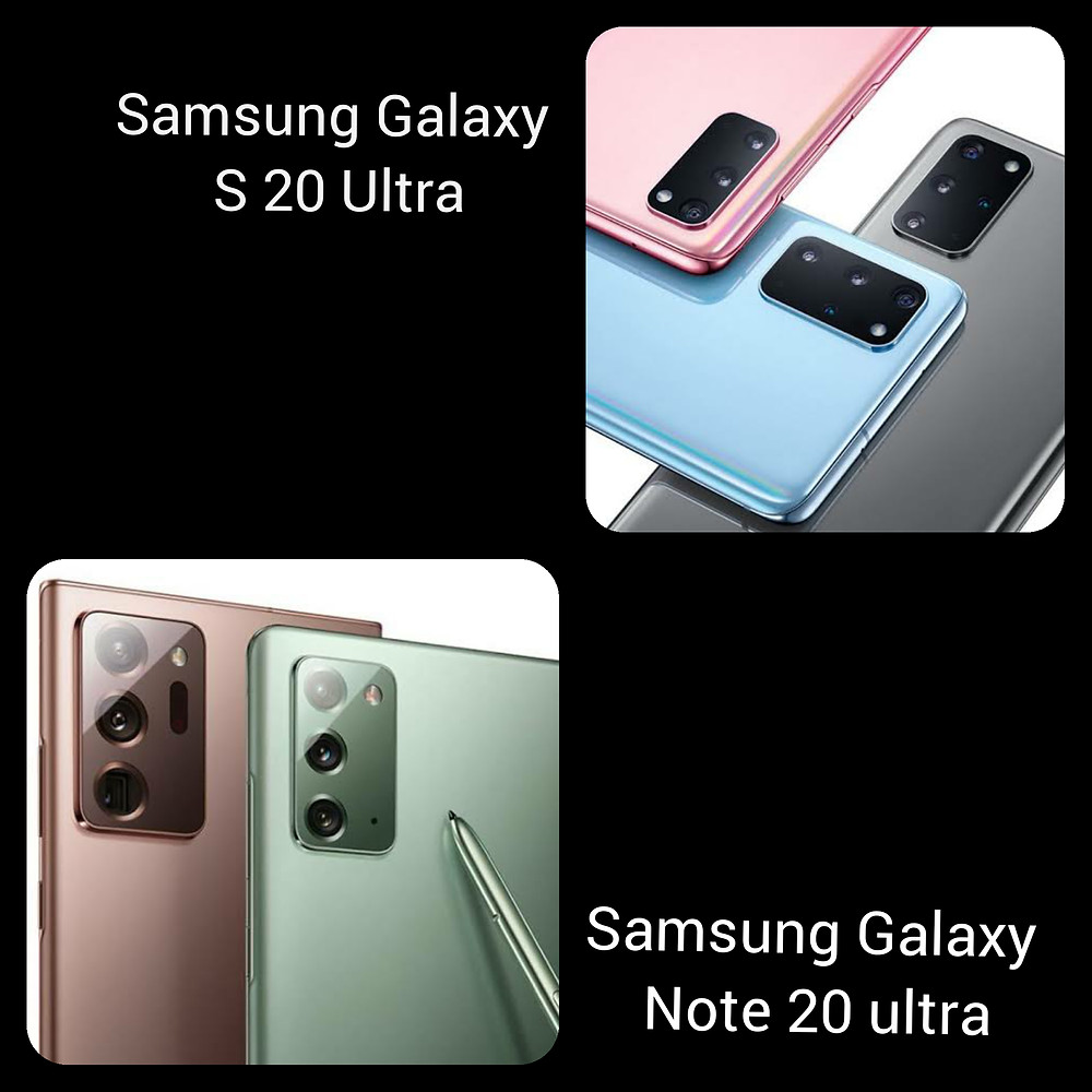 Samsung Galaxy Note 20 Ultra review and Samsung Galaxy S 20 Ultra review and comparison
