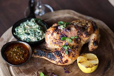 Half Sous Vide Free Range Chicken