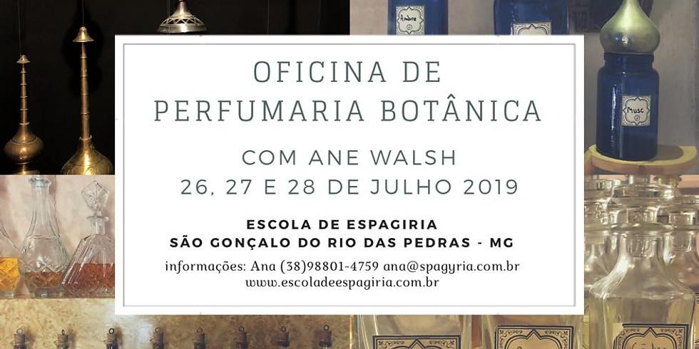 Perfumaria Botânica - com Ane Walsh