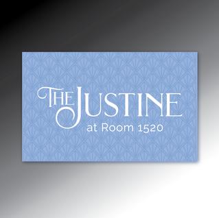 The Justine logo
