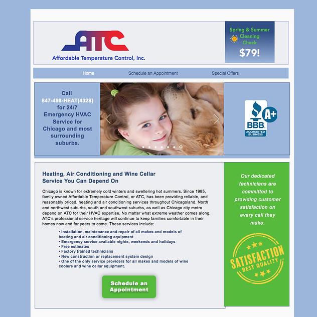 Afforadable Temerature Control HVAC