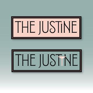 The Justine alternate logo