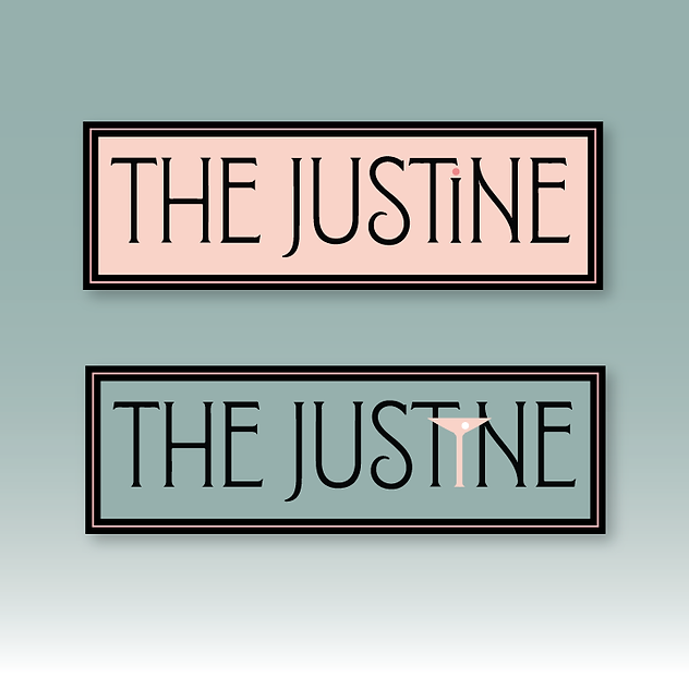 The Justine alternate logo
