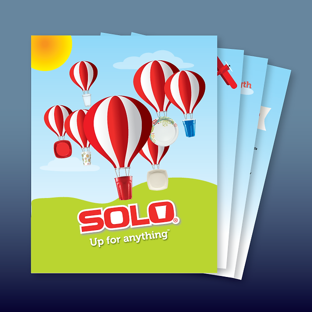 Solo Cup national sales sheet