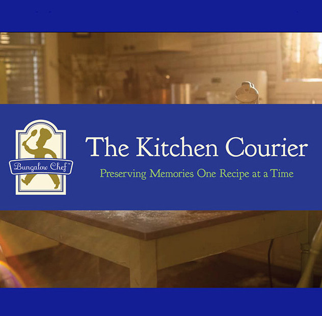 The Kitchen Courier email masthead