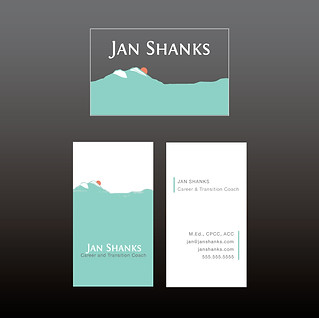 Jan Shanks Career Coach alternate logo design