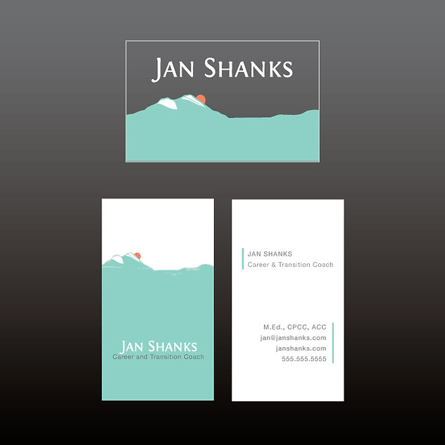 Jan Shanks Career Coach alternate logo design