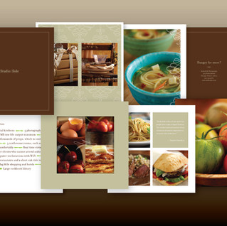 Studio | Side photography logo and brochure