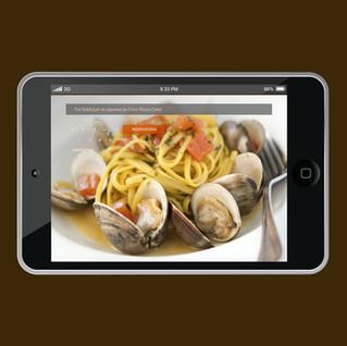 Coco Pazzo Cafe website