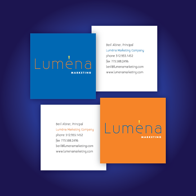 Luména Marketing logo