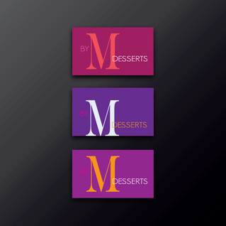 By M Desserts logo exploritory
