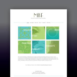 MBF Creative Partnership website