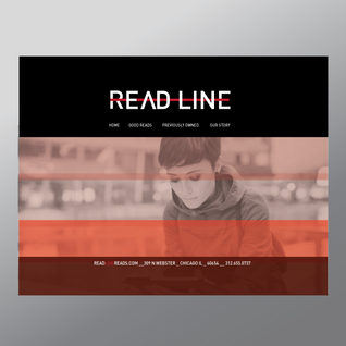 Read Line Book Shop Website