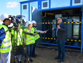Voltage Group презентувала вінницьким журналістам СЕС в Немировському районі на Вінничині