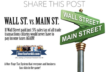 ONE TAX FOR ALL WALL ST VS MAIN ST 2020.