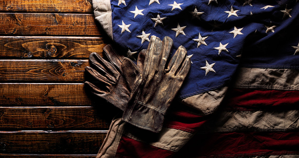 bigstock-Old-and-worn-work-gloves-on-la-