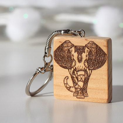 Porte clés Eléphant-Tortue