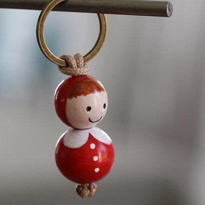 Porte clés Chaperon Rouge