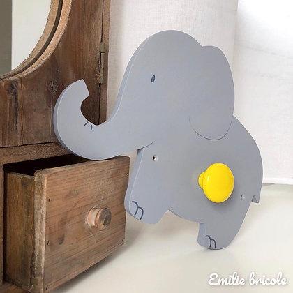 Patère éléphant