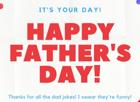 Pssst... Father's Day is coming up!
