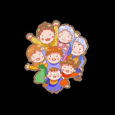 春节一家团聚手绘卡通素材免费下载 (1).png
