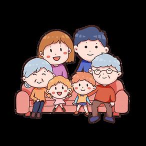 春节一家团聚手绘卡通素材免费下载.png